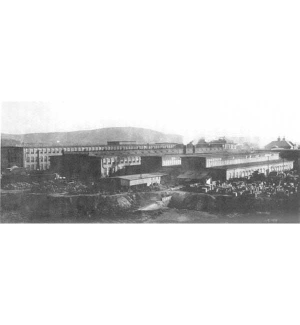 The Sturtevant manufacturing plant.