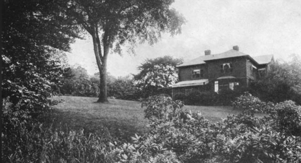 The Robert Bacon House ca. 1920. Robert Bacon Life and Letters. James Brown Scott, Doubleday Company 1923.