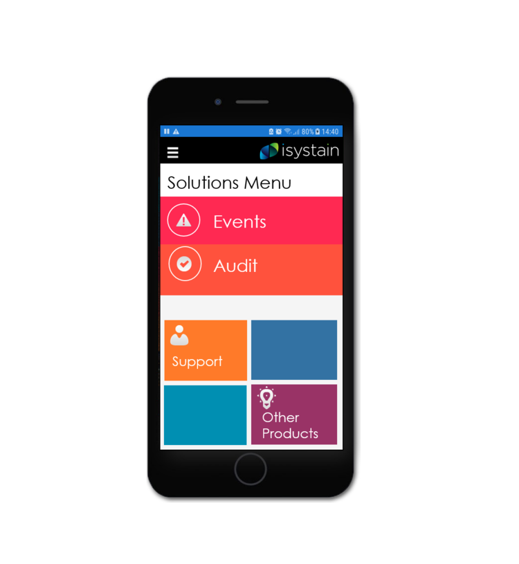 The iSystain App is here!  We're excited to announce the beta release of the iSystain App for events and audits. We're offering our existing clients the opportunity to participate in a free trial starting in October.  Contact   Jenni  To Get Invloved