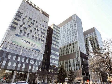 MONTREAL Centre Hospitalier de l'Université de Montréal (CHUM) Superhospital