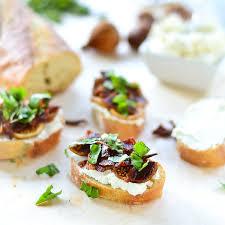 Fig & Goat Cheese Bruschetta