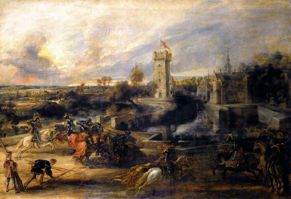 1200px-Peter_Paul_Rubens_-_Tournament_in_front_of_Castle_Steen_-_WGA20410.jpg