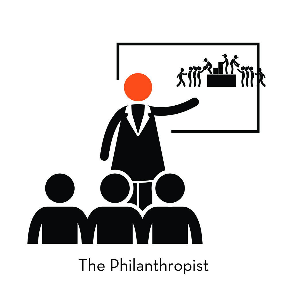 Accumulating their wealth through game changing innovation rooted in a deep understanding of human needs, Philanthropists are now ready to wield that capital for social change. They need to connect to people from the opposite side of the social spectrum, work with NGOs and governments, and hold expertise in social systems and know how to move them.