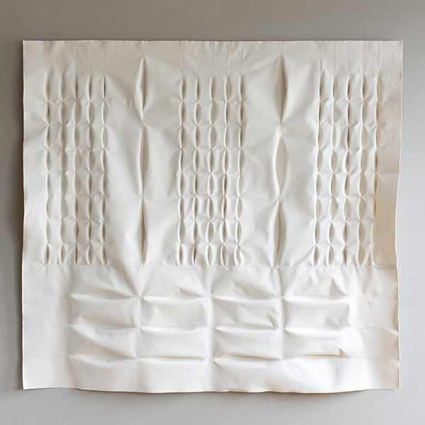 "Betty, 64"" x 68"" [Aran Series]"