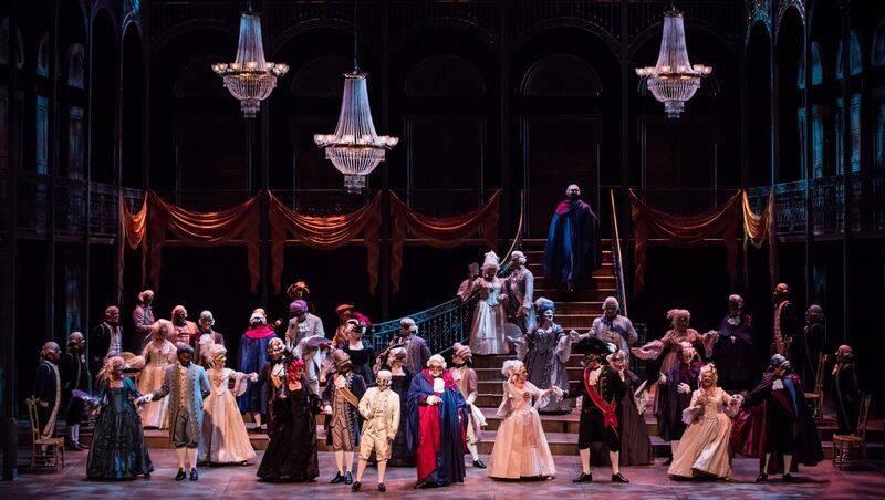 Un ballo in maschera - Florida Grand Opera  Tutti cast of   Un ballo in maschera  at Florida Grand Opera