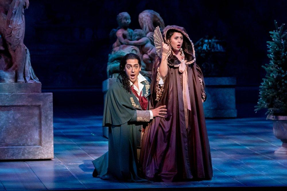 Susanna - Le nozze di Figaro  Florida Grand Opera, 2019  Photo by Chris Kakol