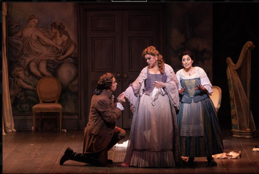 Susanna - Le nozze di Figaro  Florida Grand Opera, 2019  Photo by David Azoulay