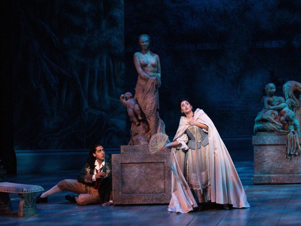 Susanna - Le nozze di Figaro  Florida Grand Opera, 2019  Photo by Daniel Azoulay