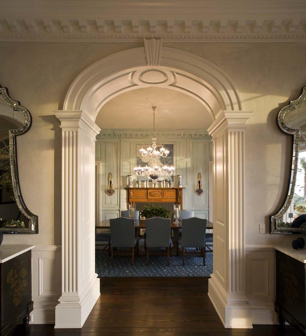 Jacksonville Estate Dining Room Entrance