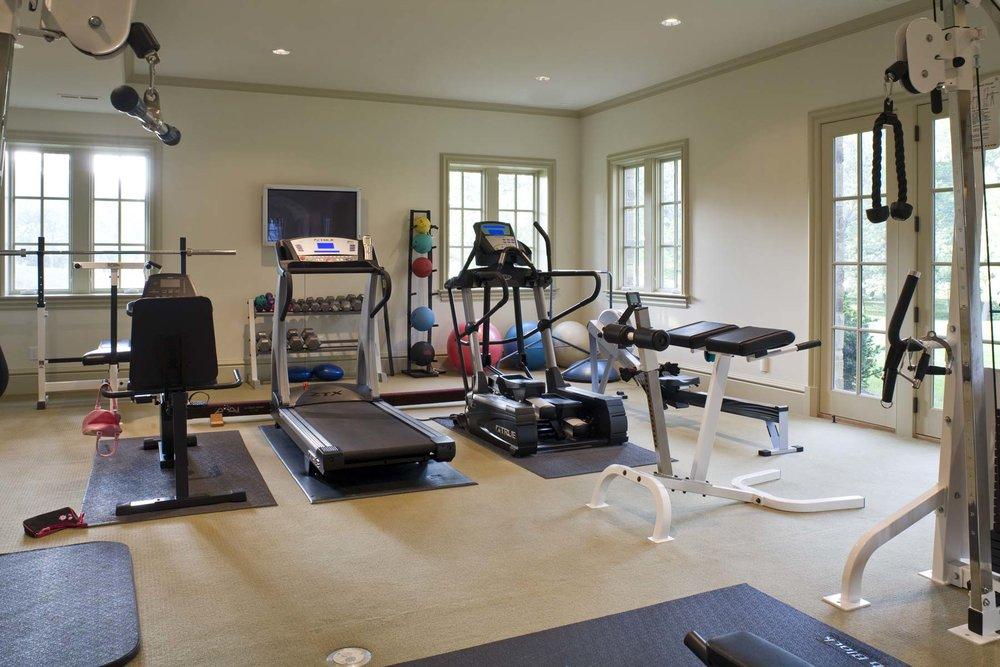 Stoneleigh House Fitness Room