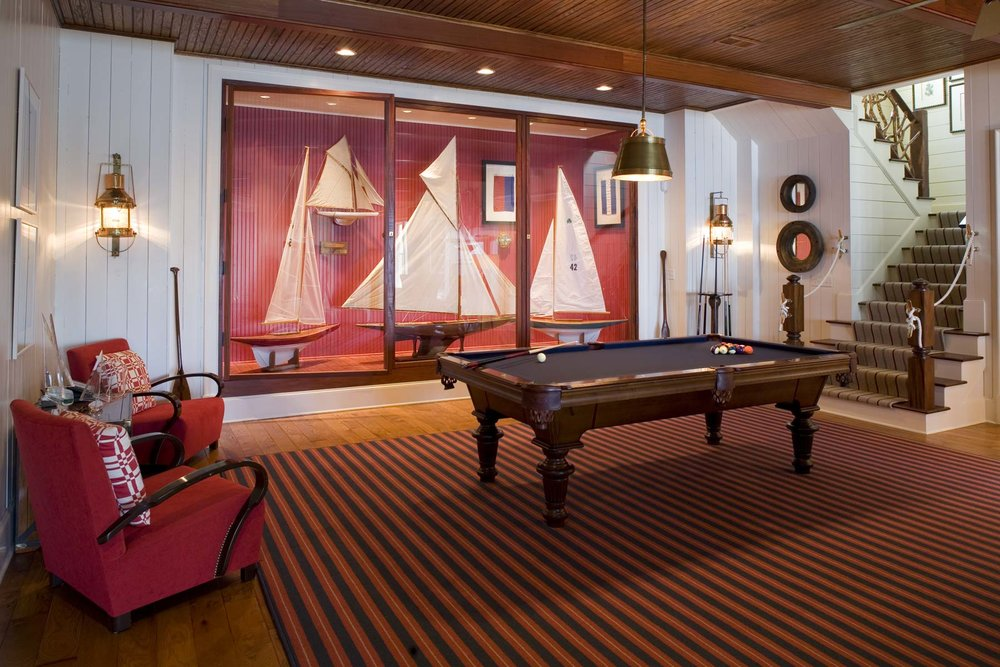 South Carolina Lake House Recreation Room