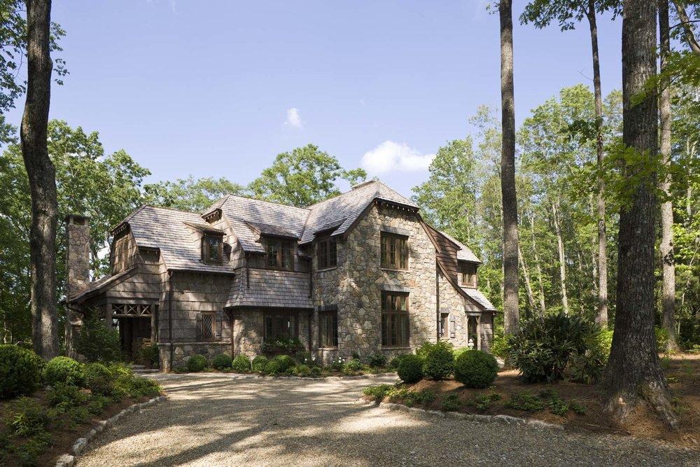 Driveway - Wade Hampton House, William T. Baker