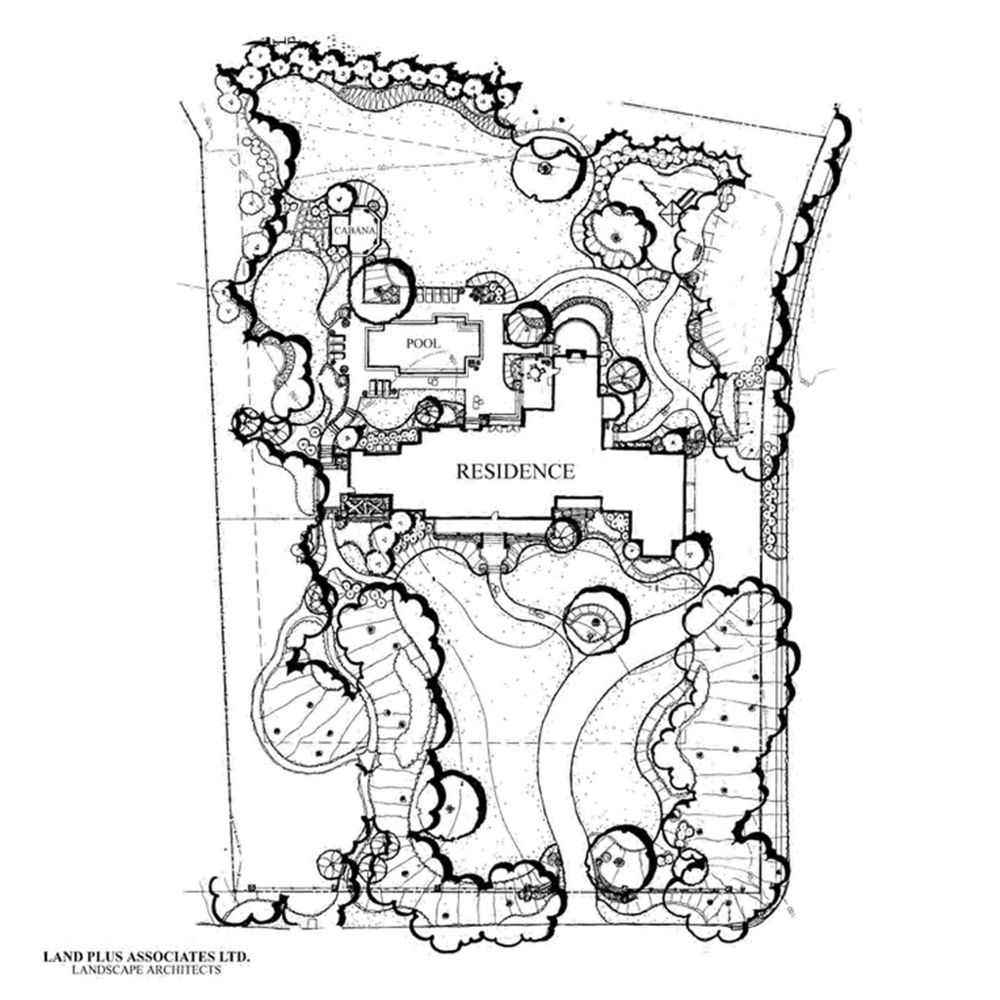 Land Plan for Gambrel Roof House