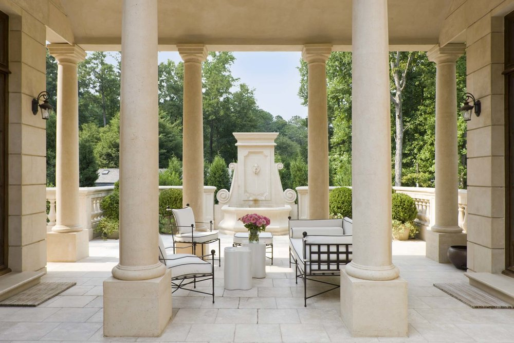 French Courtyard House | William T. Baker