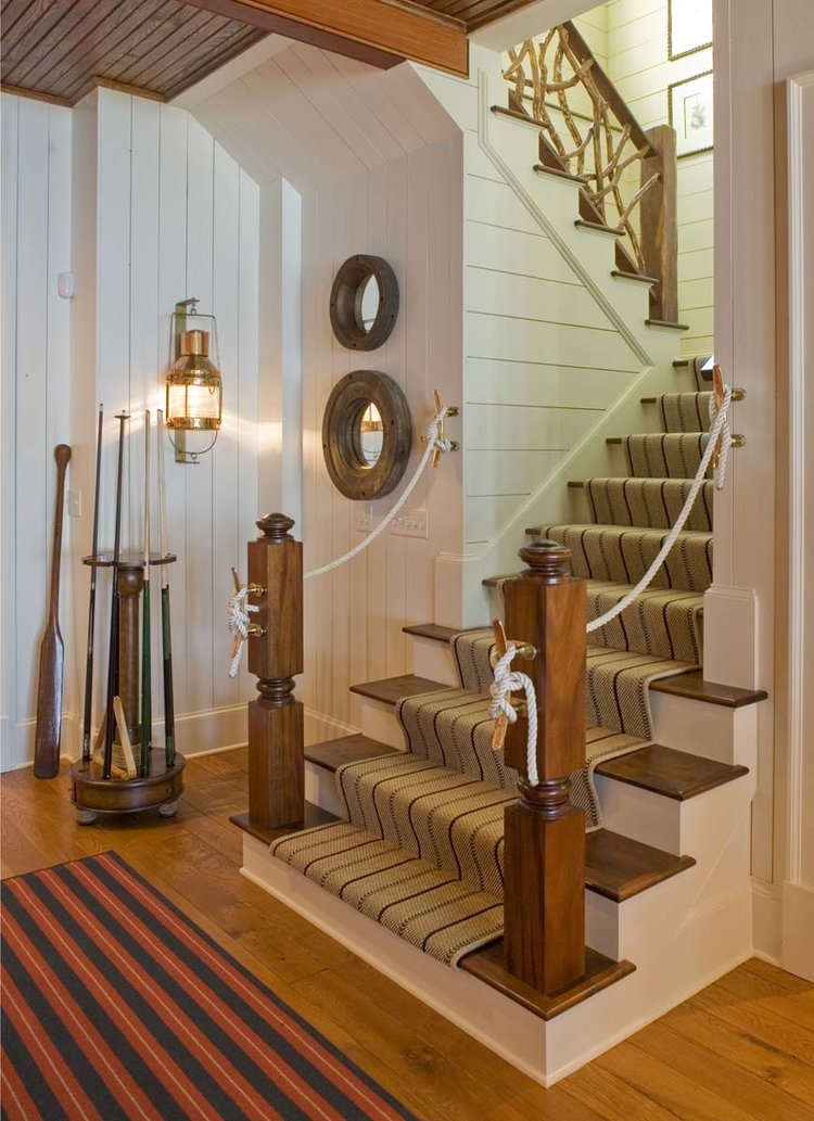 Entrance Hall, South Carolina Lake House | William T. Baker