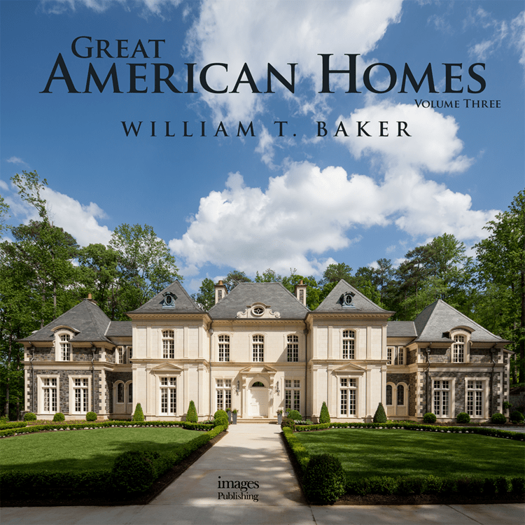 Great America Homes III - This magnificent, richly photographed monograph is the third volume in this successful Classicist series. It showcases the beautifully designed homes of the modern families who entrusted William T. Baker with their dreams and visions, and whose trust has been rewarded with classically inspired homes of grace and beauty. PURCHASE