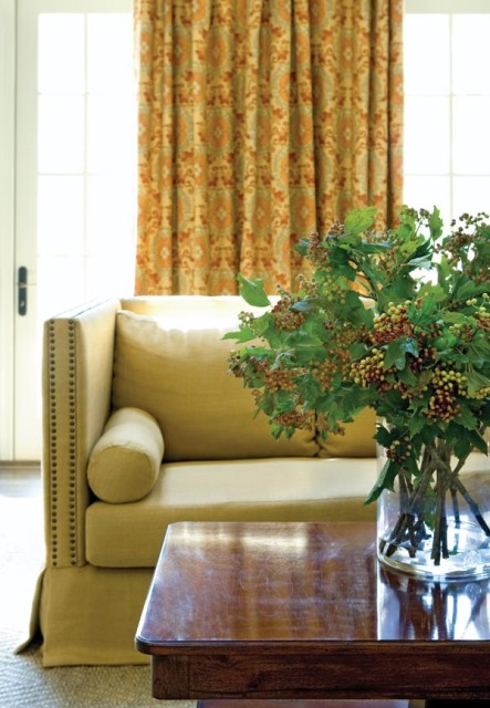 Living Room Detail, Lake Oconee Retreat | William T. Baker