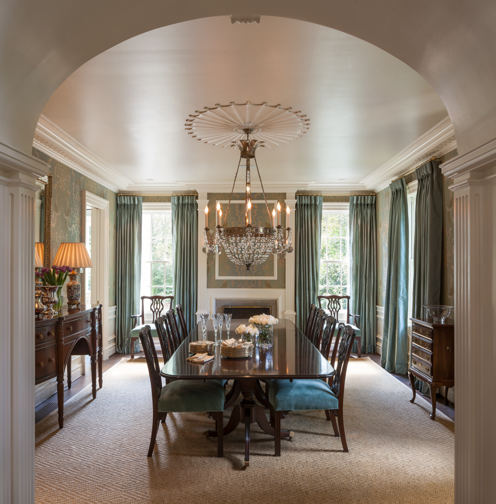Dining Room, Francis Palmer Smith House | William T. Baker