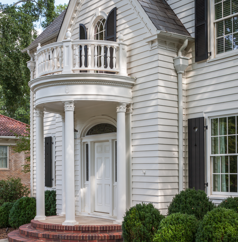 Round Portico, Francis Palmer Smith House | William T. Baker
