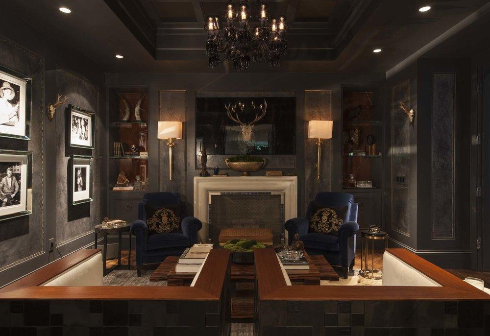 Gentleman's Lounge | William T. Baker