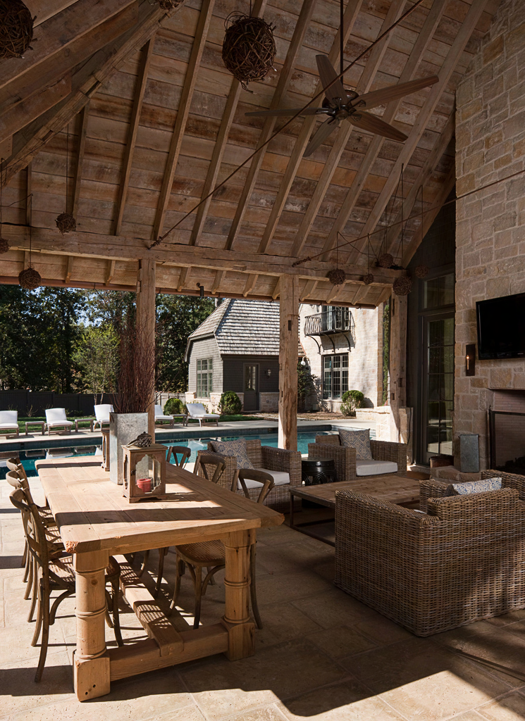 Outdoor Living at Rock Point | William T. Baker