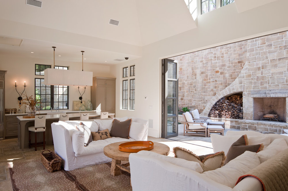 Open Plan at Rock Point | William T. Baker