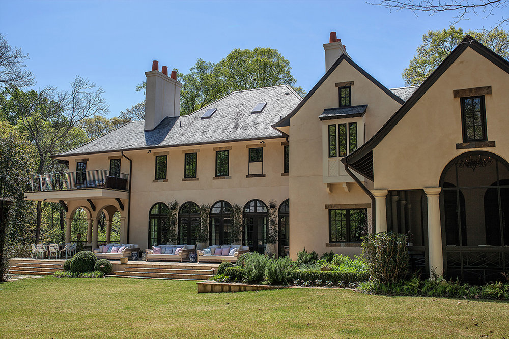 Rear, Wooded Hill Estate | William T. Baker