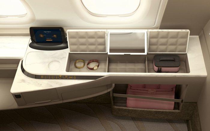In-flight Luxury, Singapore Airlines
