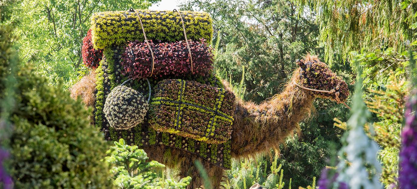 Life Style Imaginary Worlds At The Atlanta Botanical Garden