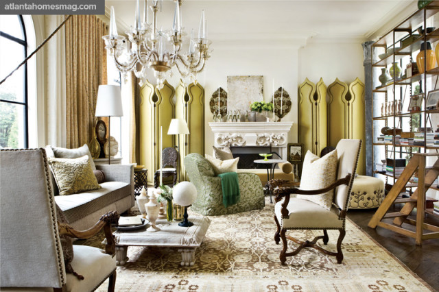 Bold Bazaar Living Room, Barry Dixon