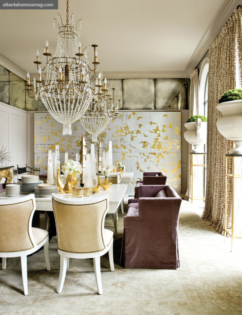 All That Glitters Dining Room, Melanie Turner