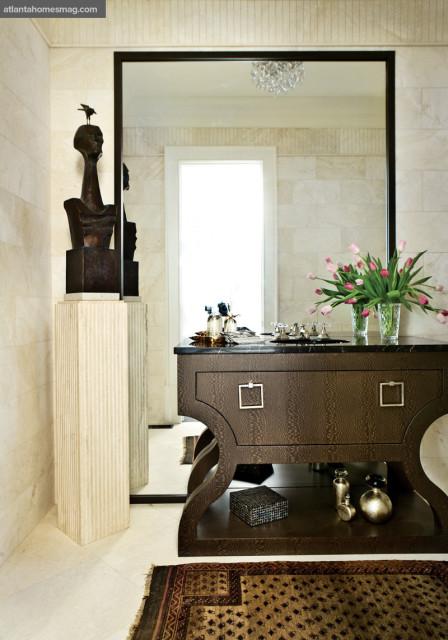Soft Curves Powder Room, Cheryl Lucas & Jackie Cottrill