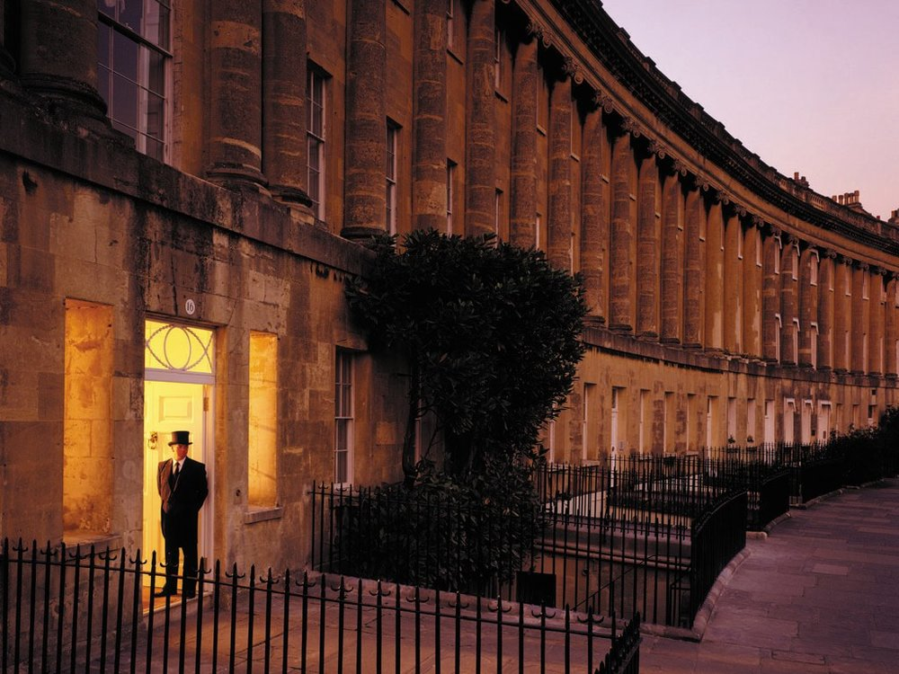 Royal Crescent Hotel in Bath, England | William T. Baker