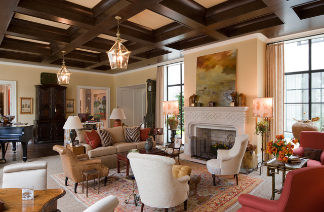 William T. Baker   Fireside Rooms