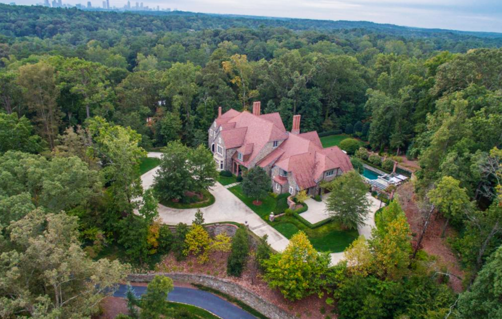 Aerial View - Graggamoore Estate, William T. Baker