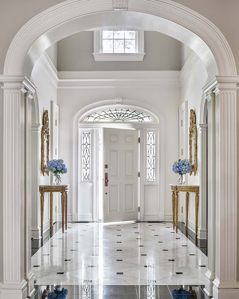 Foyer (After) - Francis Palmer Smith House, William T. Baker