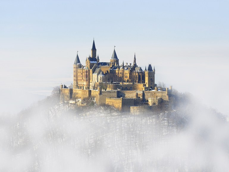 William T. Baker | Hohenzollern Castle in Hohenzollern, Germany