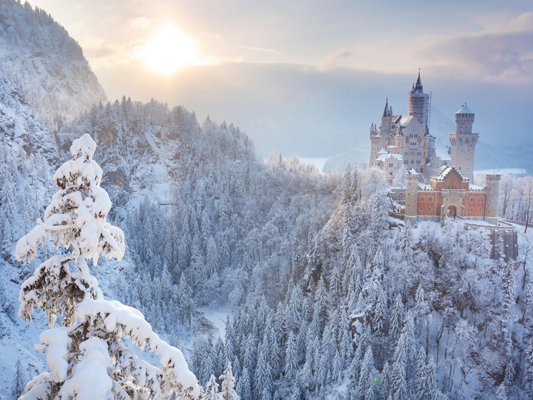William T. Baker | Neuschwanstein Castle in Bavaria, Germany