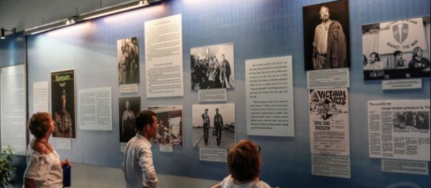 July 2018 - The International Network of Museums for Peace recently put out their latest newsletter about Waging Peace Exhibition at War Remnants Museum in Ho Chi Minh City, Vietnam.