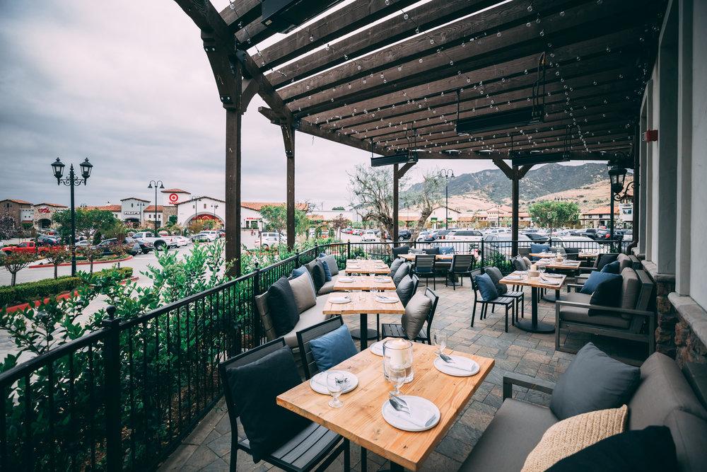 outdoor patio sunday brunch westlake village