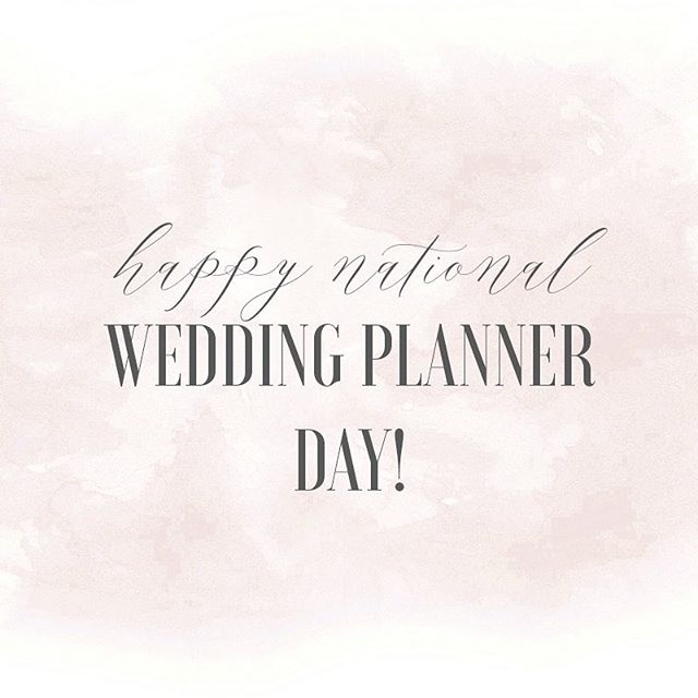 Happy #nationalweddingplannerday to all of my fellow planners! Today we celebrate the magic makers in the background. Tag your planner and give them a big virtual hug! 🤗 Graphic courtesy of the lovely ladies at @lvl_academy @lindsaylongacre @heatherhoesch