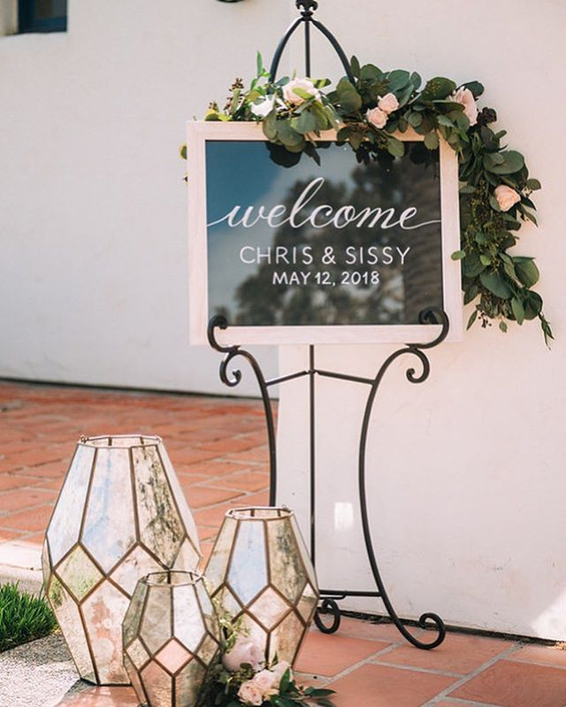 Welcoming your guests to your ceremony sets the tone for the day.  ___ Vendor love💕 Coordination: @confettiskies  Photography: @linandjirsa  Floral Design: @thebloomoftime  Venue: @olehansonbeachclub  Catering: @24carrotscatering  DJ: @extremedjservice  Harpist: @orangecountyharpist  Officiant: Ralph Su Cake + Desserts: @simplysweetcakery  Hair + Makeup: @beachbridalbeauty  Wedding Dress: @maggiesotterodesigns  Suit: @suitsupply . . . . #confettiskies #olehanson #olehansonbeachclub #sanclementewedding #sanclemente #ocwedding