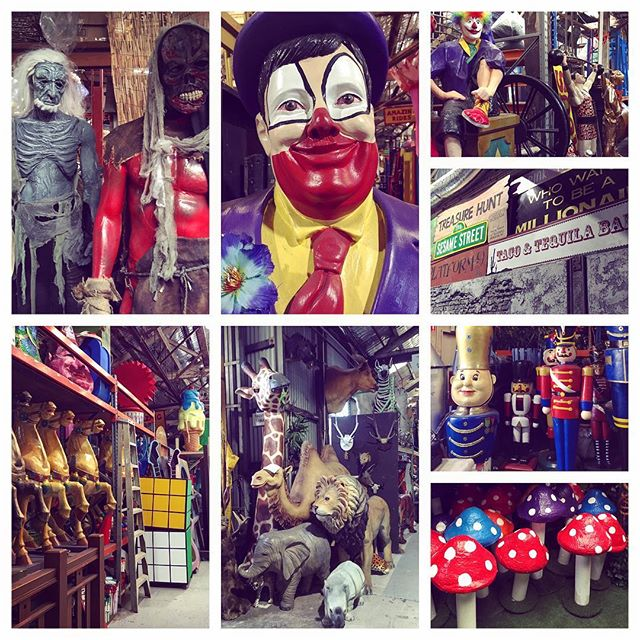 Sydney Props Specialist Studio...most fun/spooky place to shoot! 🤡🤗#shootahoy #sydneyprops #studiotime