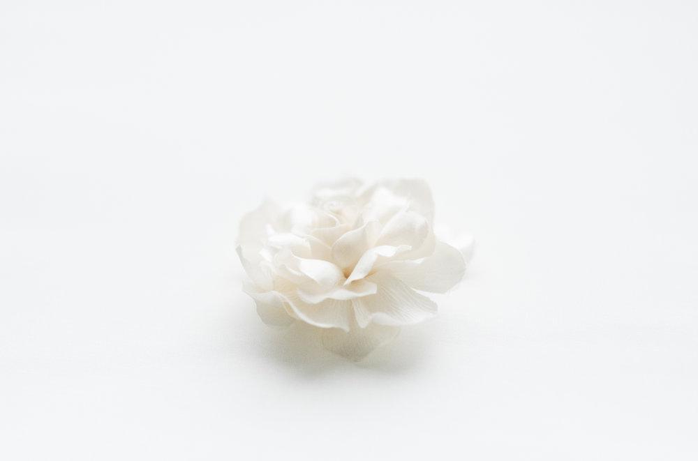 Silk flowers shirley and audrey gardenia charmeuse shirleyaudrey mightylinksfo