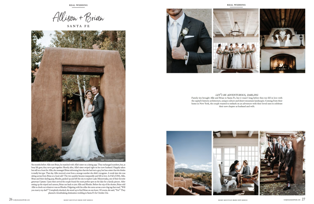 Rocky Mountain Bride New Mexico 2018