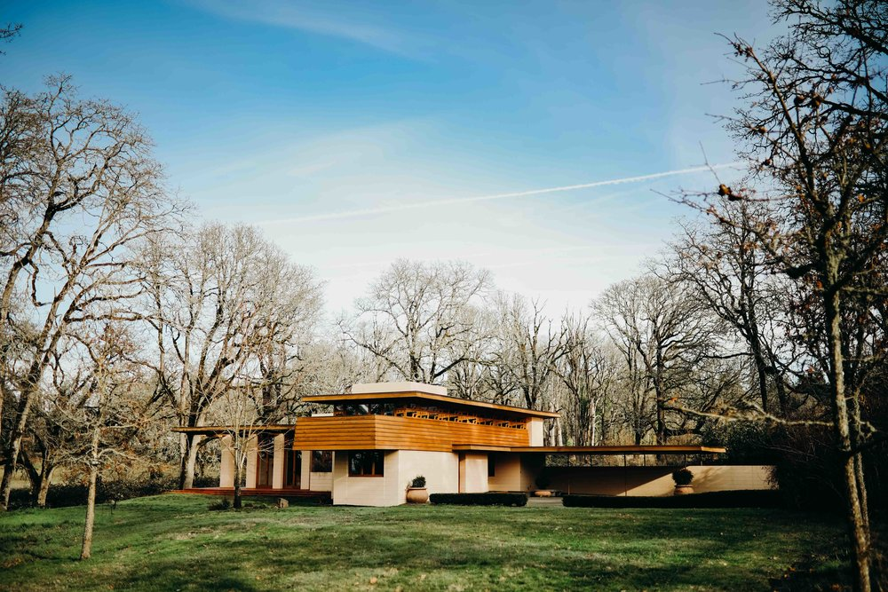 A Frank Loyd Wright usonian house
