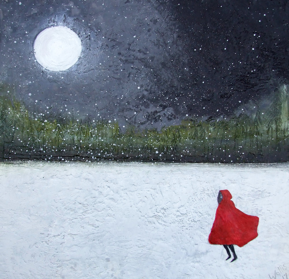 """LITTLE RED 30""""X30"""""""
