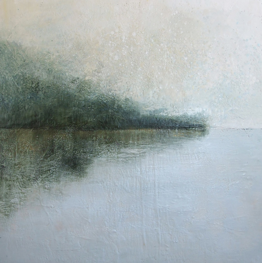 """THE SILVER LINING 48""""X48"""""""