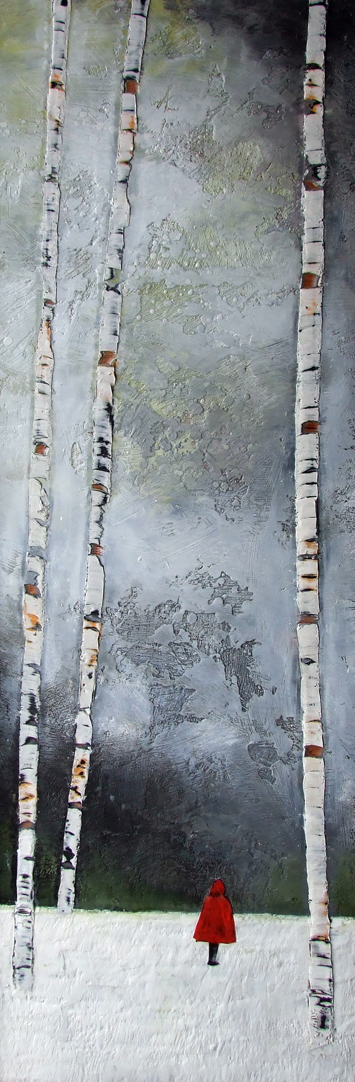 """the beckoning 16""""x48"""""""