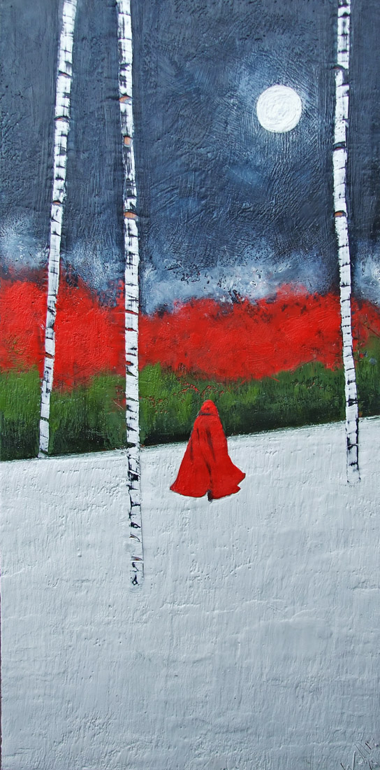 communion with the woods 18x36